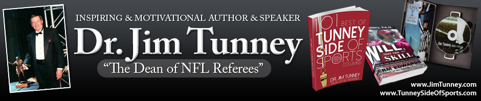 Dr. Jim Tunney, Dean of NFL Referees